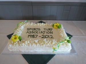 STA 25th Anniversary cake