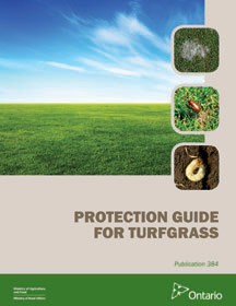 Protection Guide for Turfgrass publication cover photo